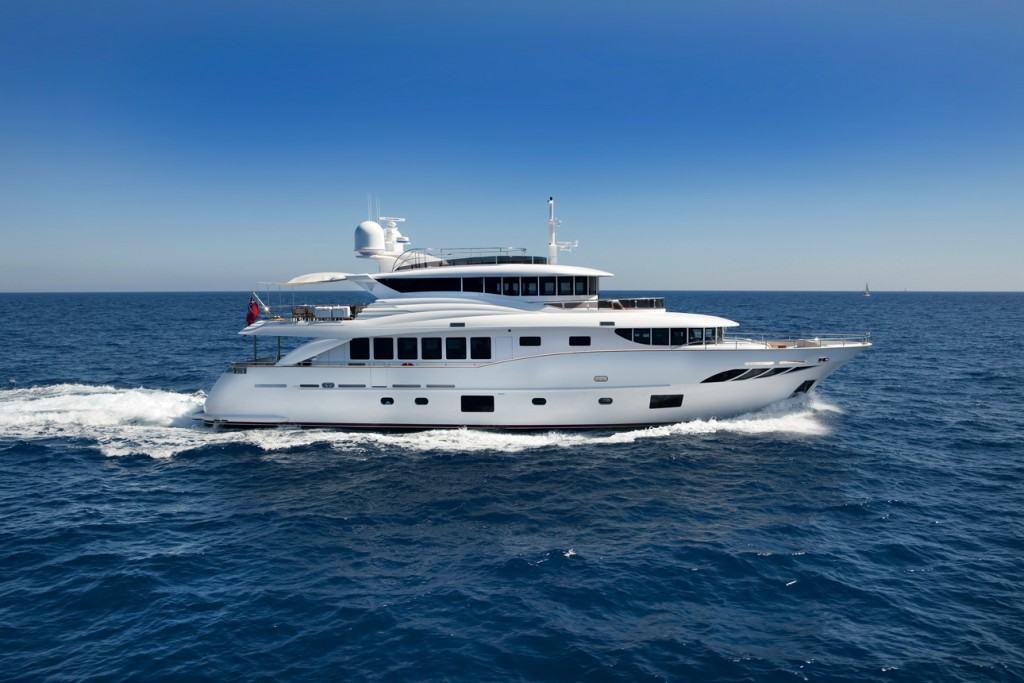 Ovo je fotografija jahte Filippetti Navetta 30 u plovidbi