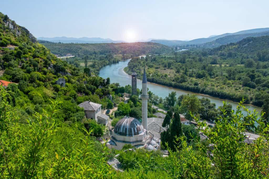 Ovo je fotografija grada Počitelj, Hercegovina