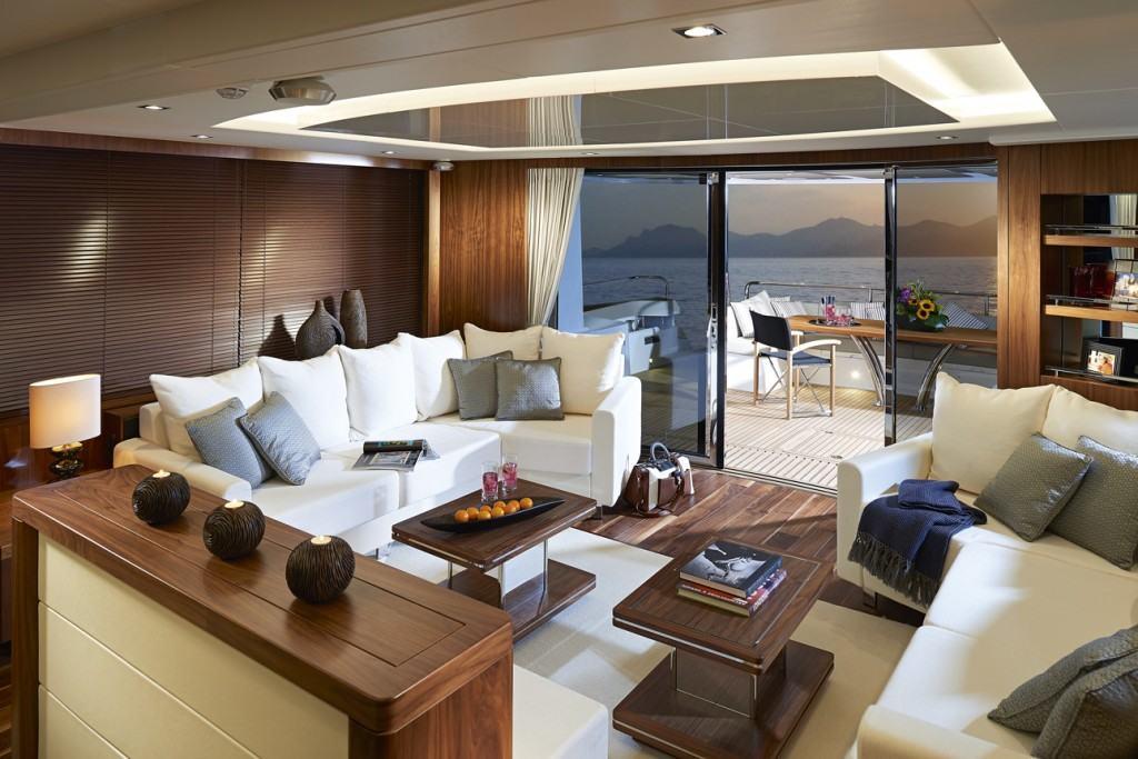 Sunseeker Yacht 86 salon