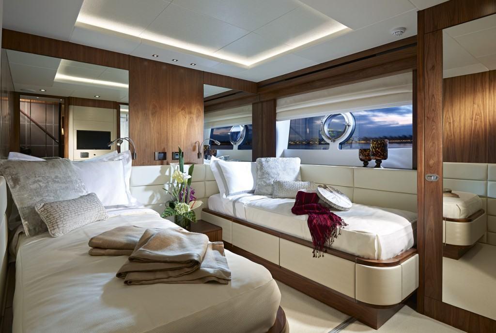 Sunseeker Yacht 86 dvokrevetna kabina