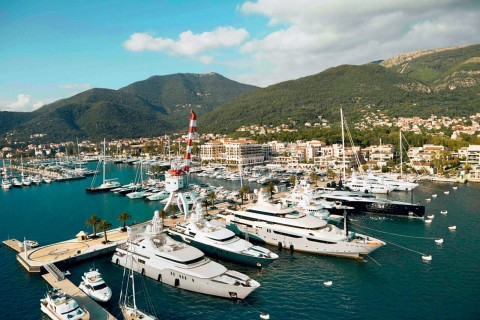 Superyacht Marina Porto Montenegro