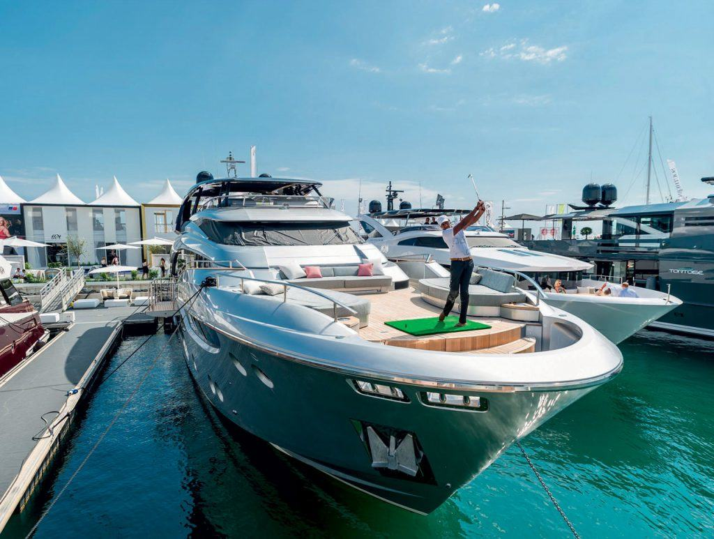 Golf yacht yachts croatia for Fish food golf balls
