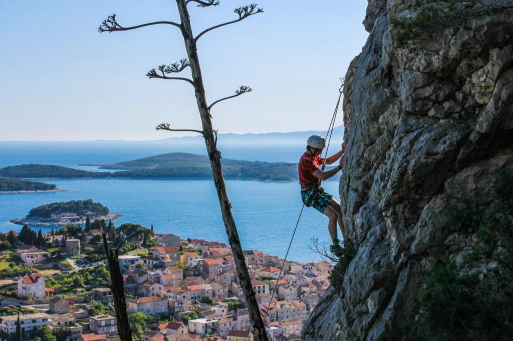 Hvar climbing