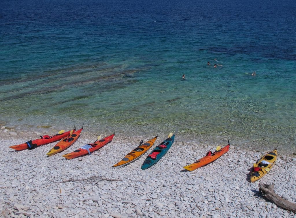 Korčula sea kayaking