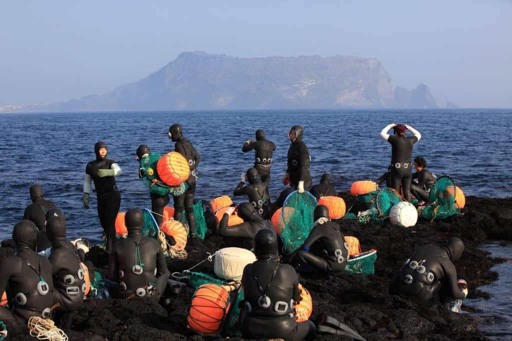 Haenyeo Jeju Island