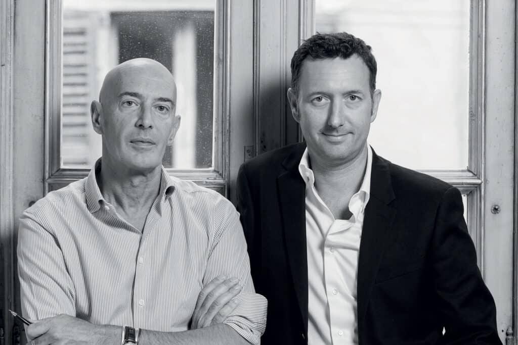 Ovo je fotografija dizajnera Maura Michelia i Sergio Beretta, izvršni direktor Officina Italiana Designa