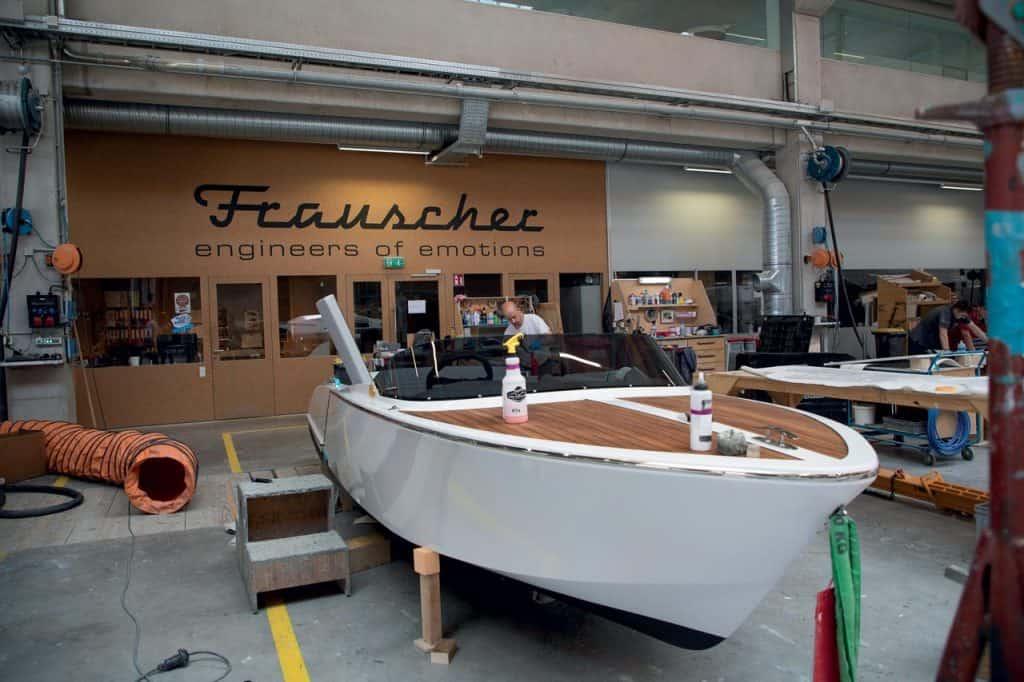 Ovo je fotografija Frauscher brodogradilišta