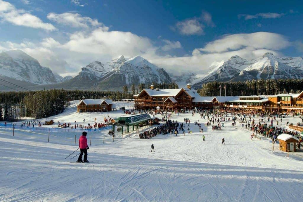 Američki San, skijanje