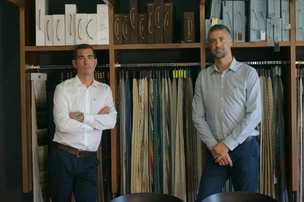 Ovo je fotografija Filip Pedišić i Davor Babin iz tvrtke Nova Design