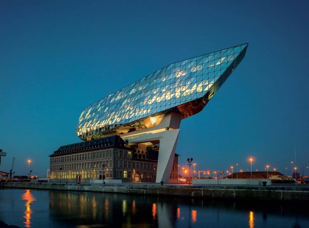 Zaha Hadid Port House Antwerp