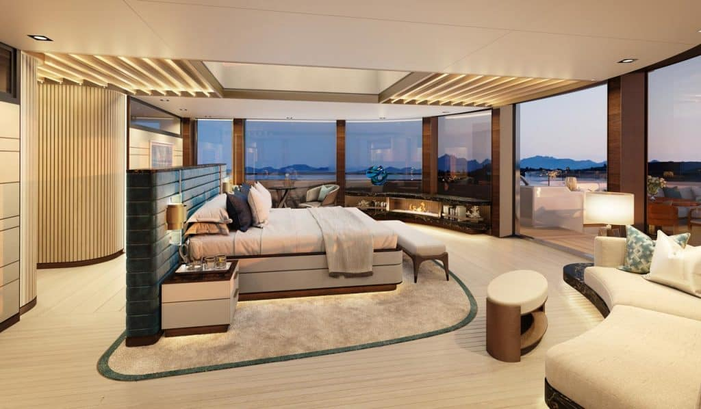 Benetti BNow Interior View