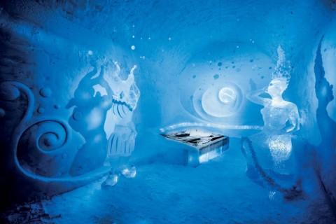 Icehotel, luksuz u ledu