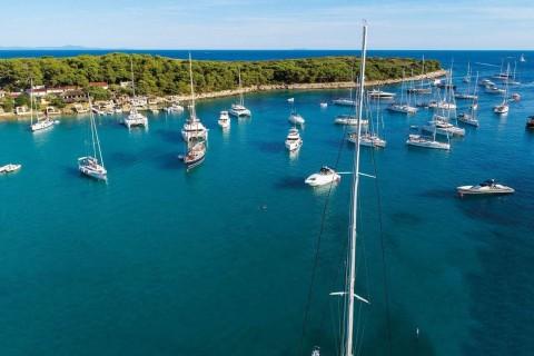 Sailing On Adriatic