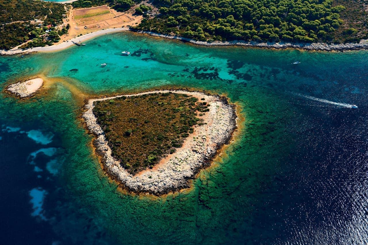 Beautiful island in Croatia