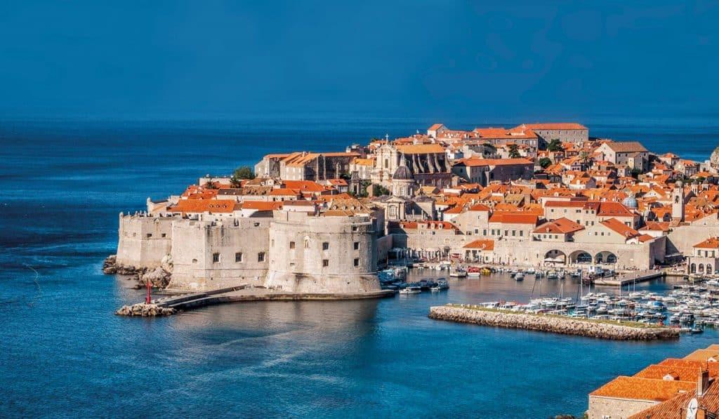 ovo je fotografija Dubrovnika, Jadran