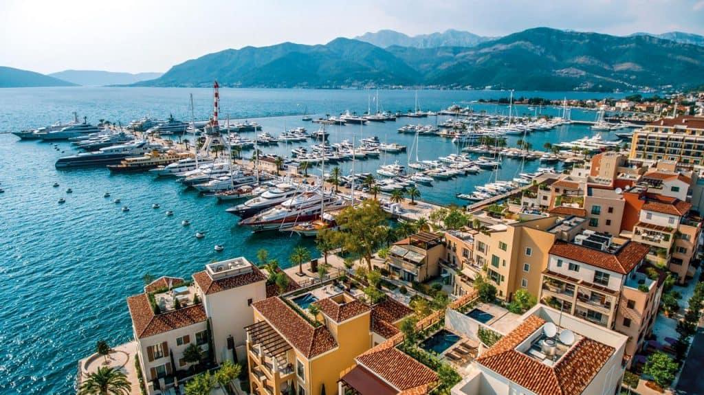 ovo je fotografija Porto Montenegro marine