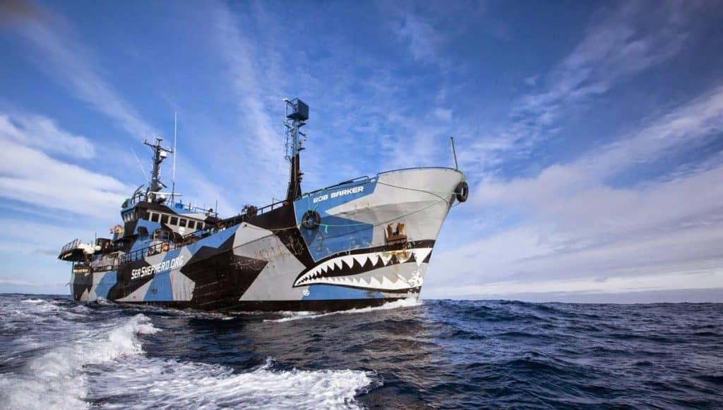 Ovo je fotografija broda Sea Shepheard