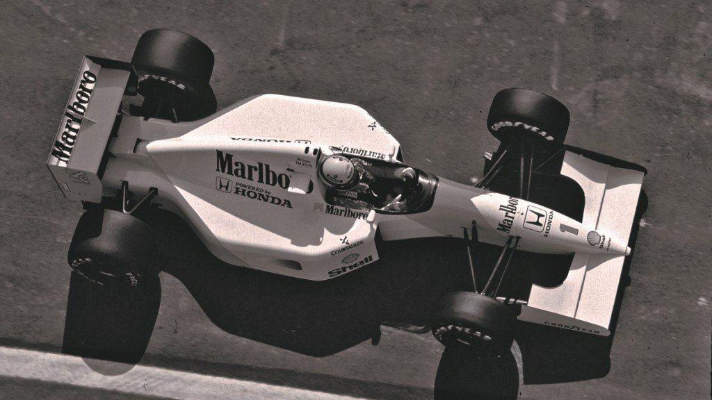 Senna u bolidu McLarena