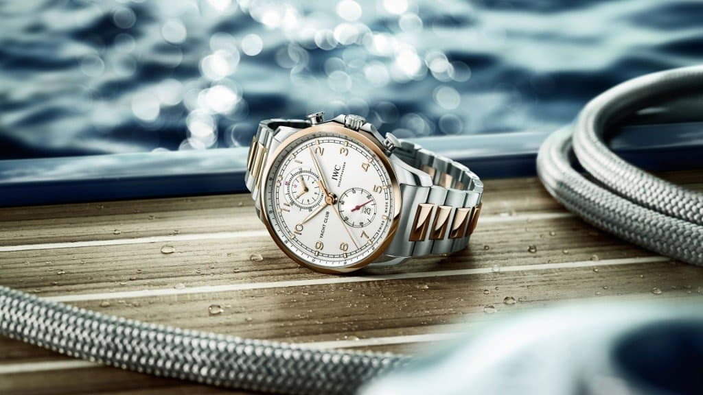 IWC Yacht Club Chronograph Remen Celik 01