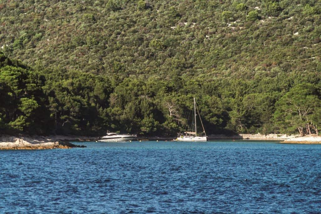 Ovo je fotografija otok Lošinj
