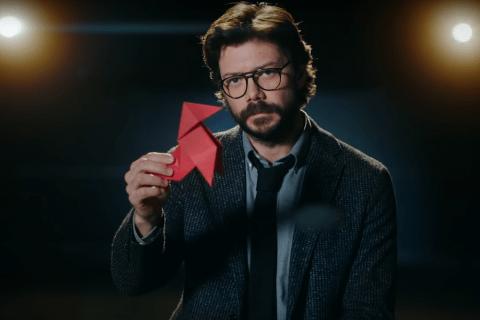 La Casa De Papel Professor Origami 01