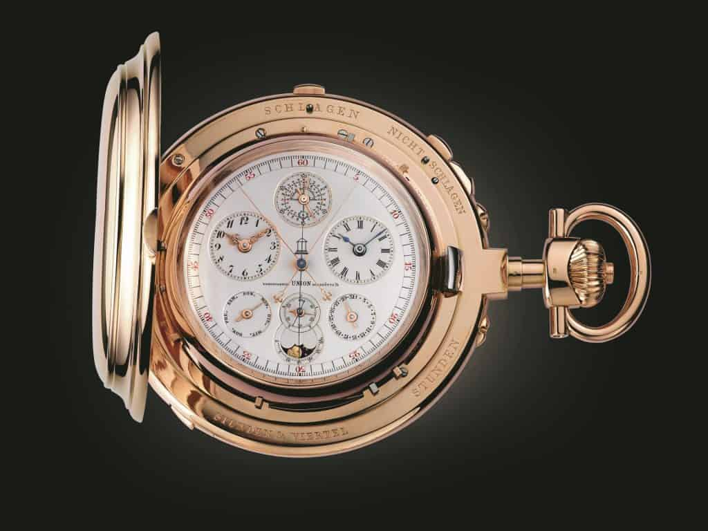 Audemars Piguet pocket watch No. 6142, called the 'Universelle'