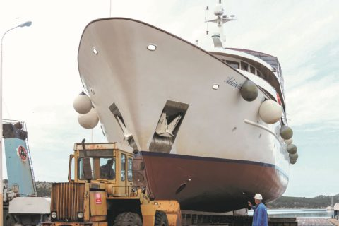 Iskra Shipyard Sibenik