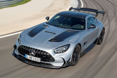 Mercedes AMG GT Black Series Na Stazi 01