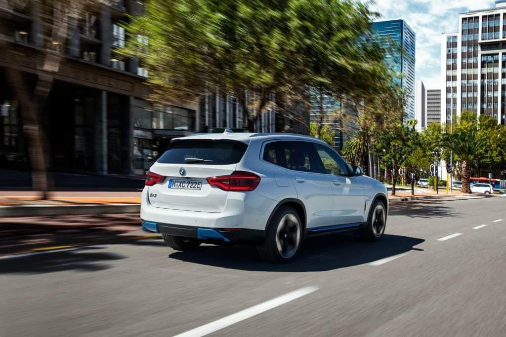 New BMWiX3 Back View 01