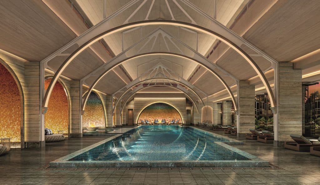 Portonovi Tower 1 Spa Indoor Pool 01