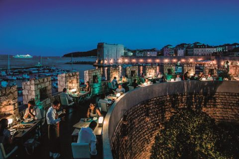 Restaurant 360 Dubrovnik terasa