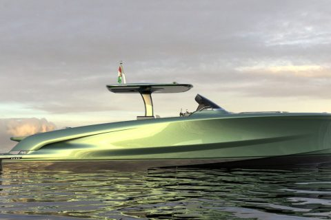 Solaris Power 44 Open Concept