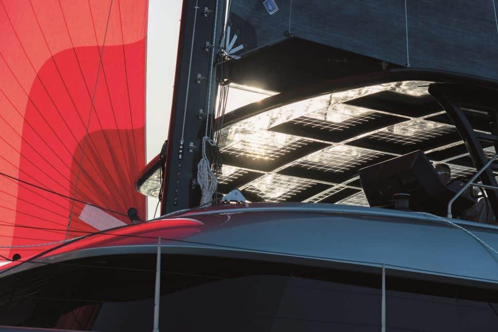 Solar Panels On Catamaran 01