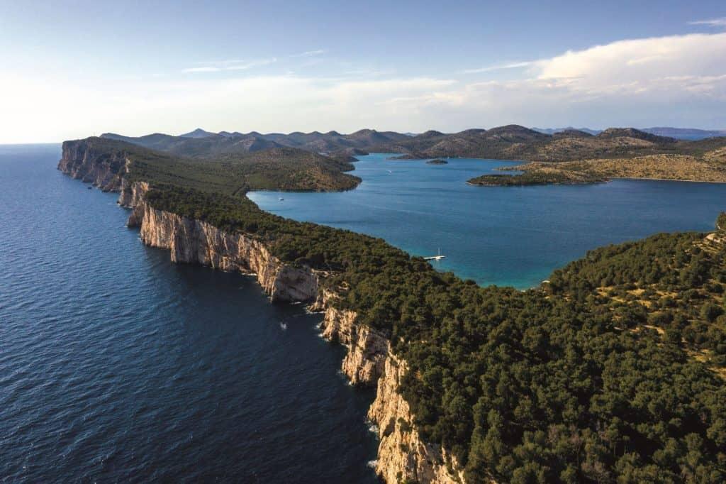Park prirode Telašćica panoramski pogled