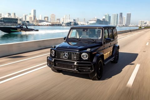Mercedes AMG G 63 Cigarette Edition