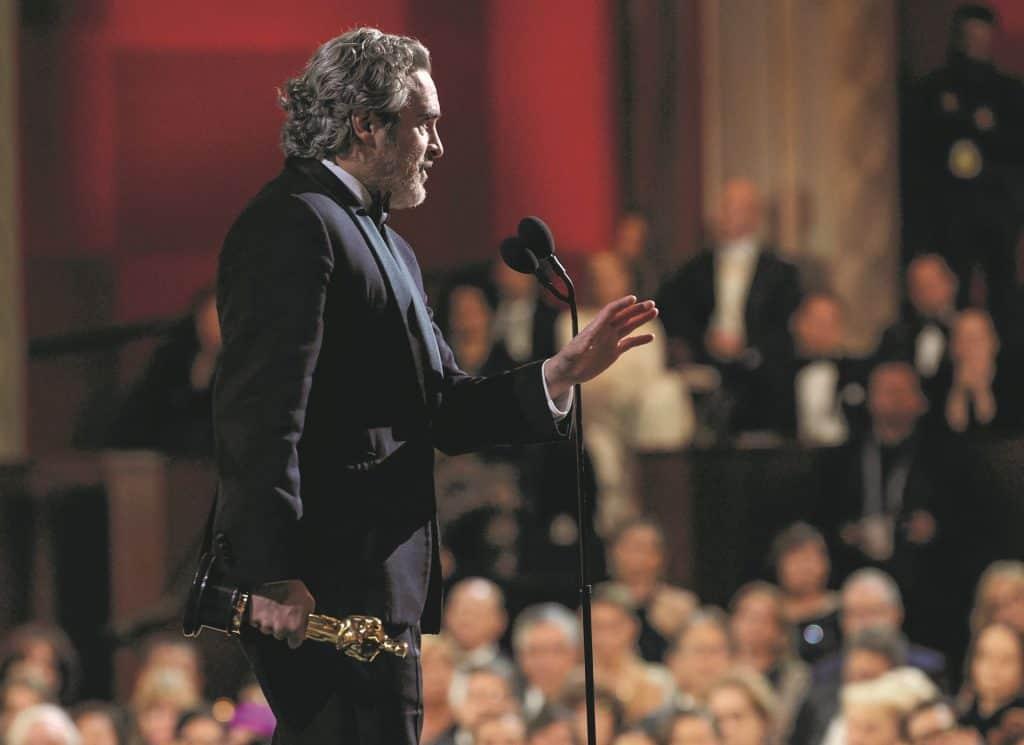 Joaquin Phoenix Oscar Speech 01