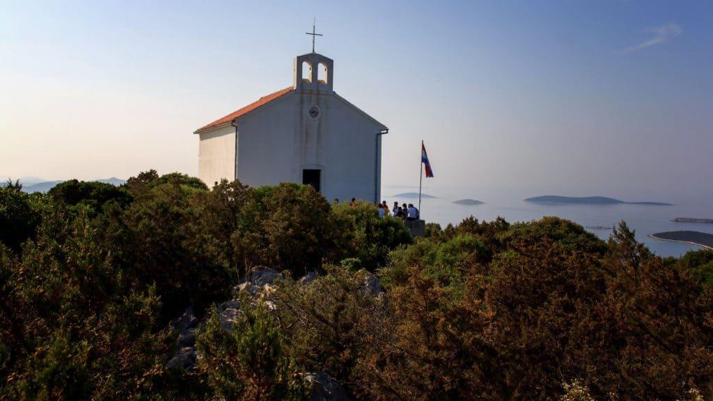 Croatia zadar archipelago panoramic view