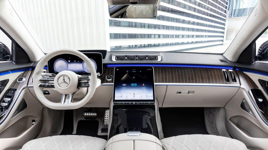 Mercedes S Klasa Unutrasnjost 01