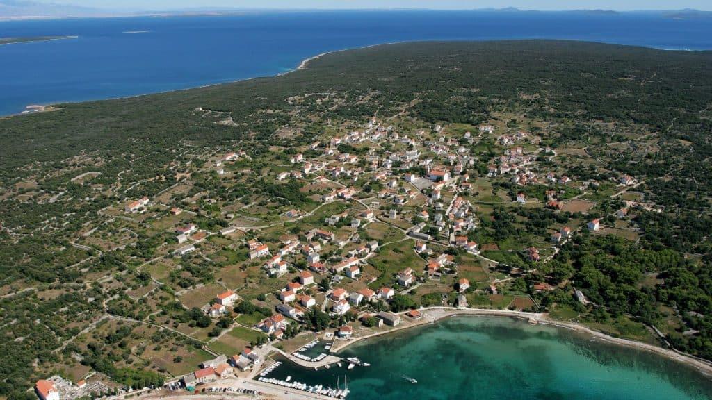 small village Olib