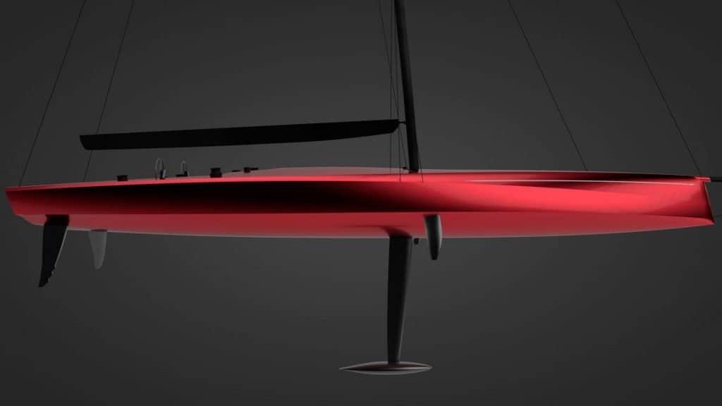 Swan 80 Red Hull 01