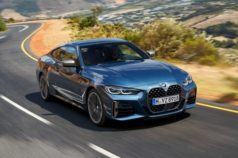 BMW Serije 4 Coupé Voznja 01