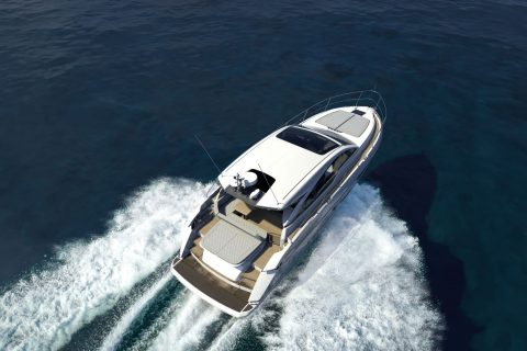 Fairline Targa 45 GT Render 01