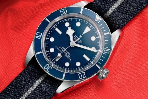 Tudor Black Bay Fifty Eight Navy Blue 01