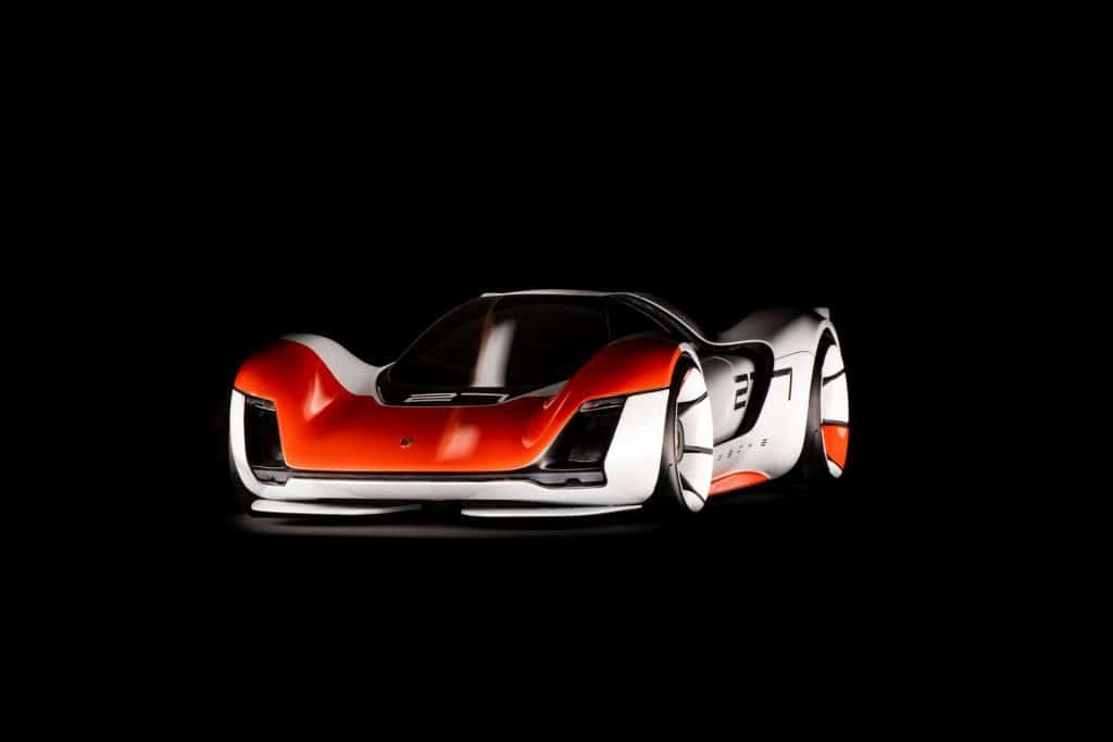 This is a photograph of a Porsche 906 Living Legend Front View 01