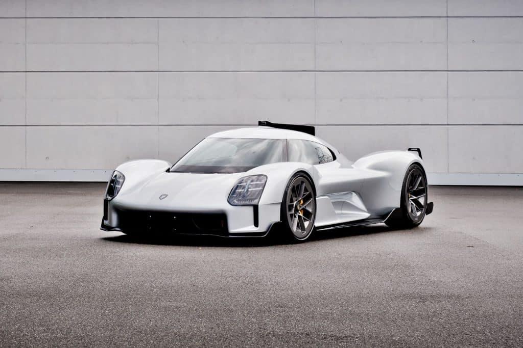 This is a photograph of a Porsche 919 Street Concept 01