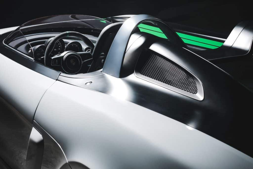 This is a photograph of a Porsche Boxster Bergspyder Cockpit 01