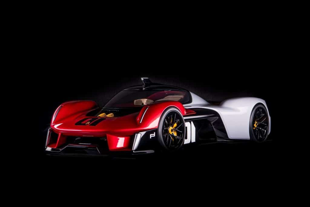 This is a photograph of a Porsche Vision 920 Front View 01