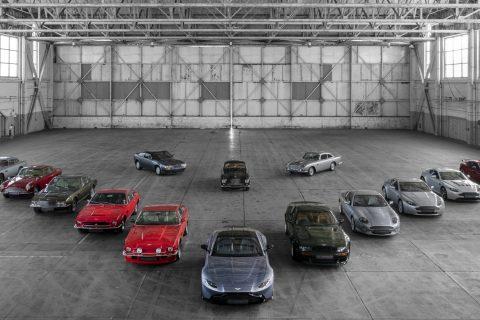 Aston Martin Vantage Modeli 01