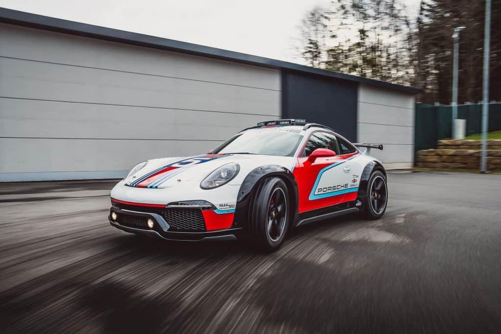 This is a photograph of a Porsche Vision Safari 01