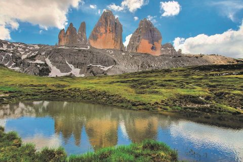 Ovo je slika Tri vrha Lavareda